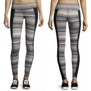 Alo Yoga Illusion 3 Tribal Print Leggings Size XS